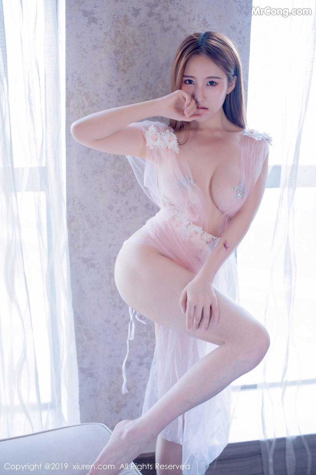 Image XIUREN-No.1643-Yue-Yin-Tong-MrCong.com-034 in post XIUREN No.1643: Yue Yin Tong (月音瞳) (50 ảnh)