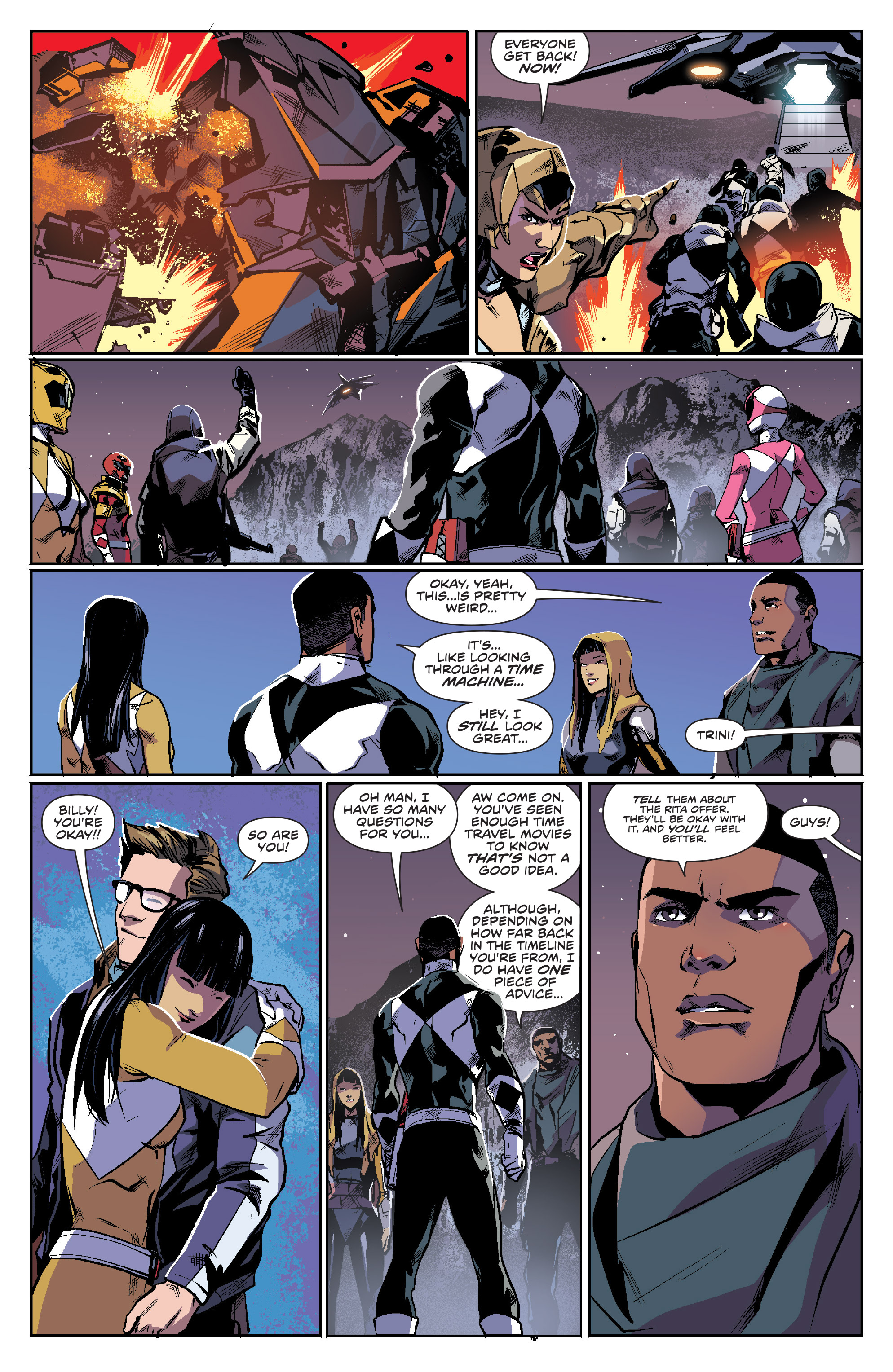 Read online Mighty Morphin Power Rangers comic -  Issue #16 - 16