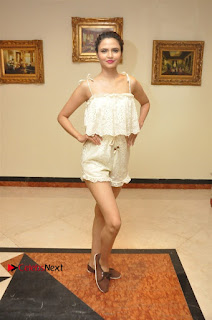 South Indian Celebrities Pos at Love For Handloom Collection Fashion Show  0090.jpg