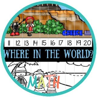 where in the world count to 50 puzzles