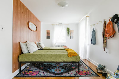 Ide Menggunakan Ranjang Tidur Tanpa Headboard