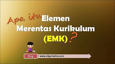 Apa Itu Elemen Merentas Kurikulum (EMK) ?