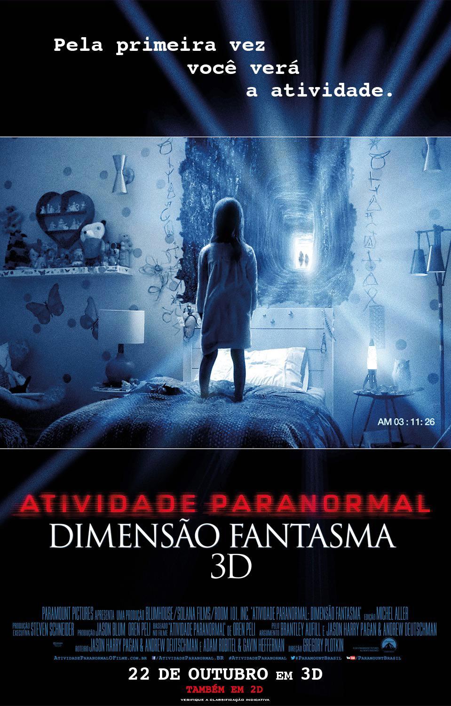 Atividade Paranormal: Dimensão Fantasma - Full HD 1080p