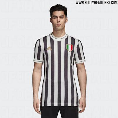 Juventus 2018 Adidas Retro Kits