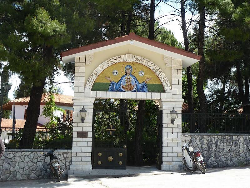 Eingang zum Kloster Faneromeni auf Lefkada