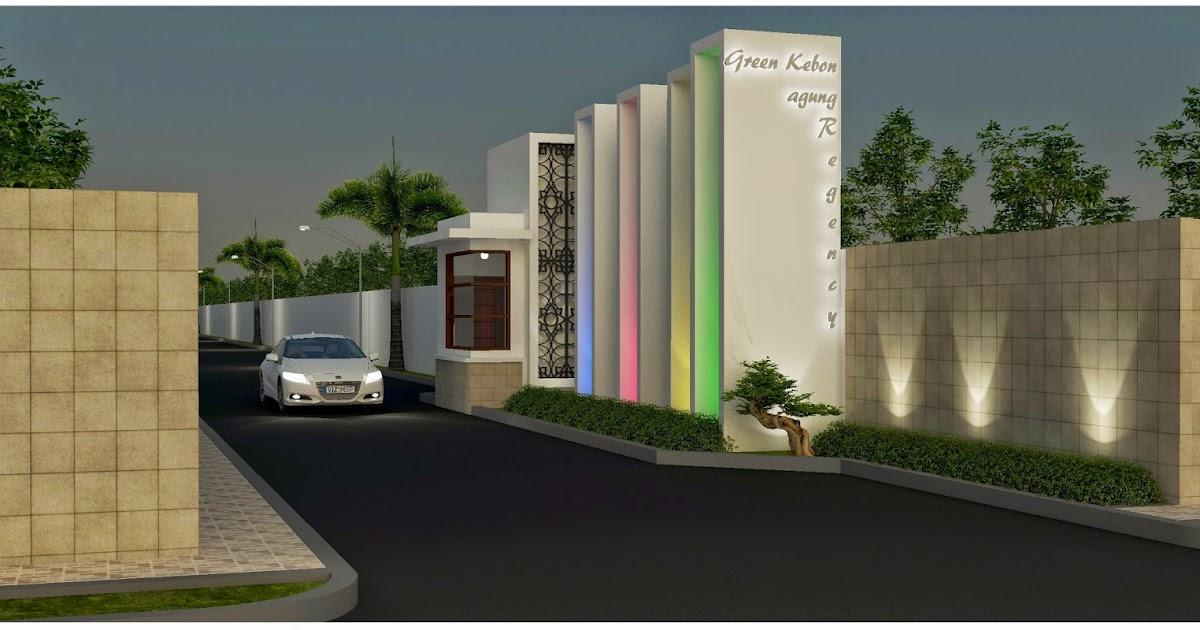 Model Gapura Rumah Mewah Design Rumah Model Terbaru