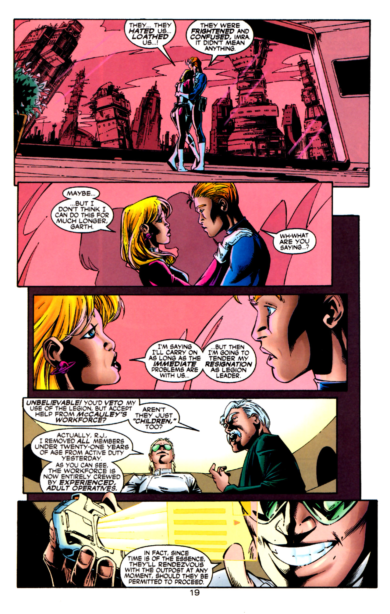 Legion of Super-Heroes (1989) 124 Page 19