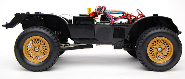 Tamiya Jeep Wrangler chassis