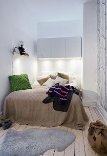 desain kamar tidur kecil yang sederhana