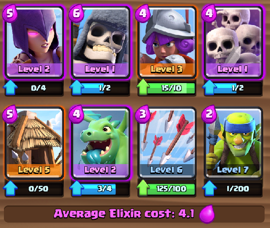 The Best Strategy Clash Royale Arena 2,3 and 4 | Strategi