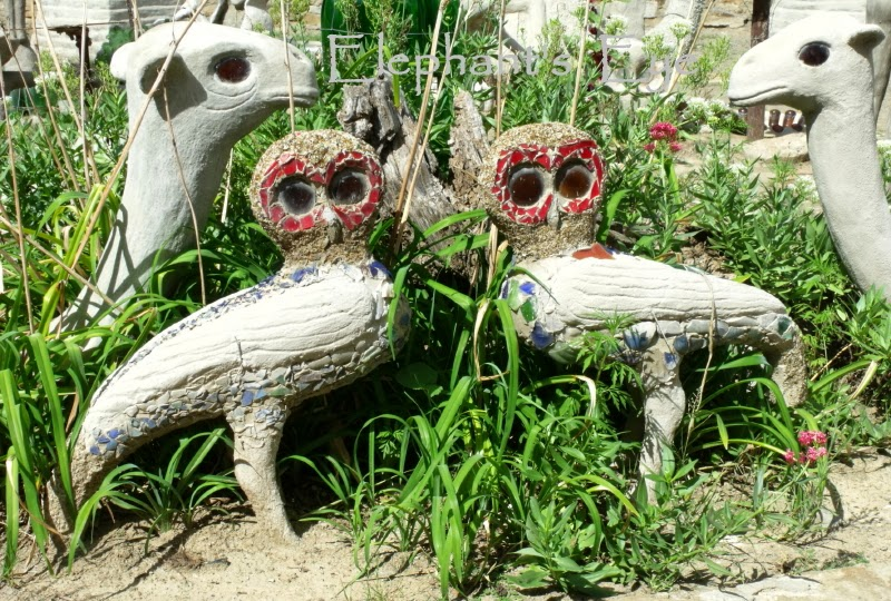 Pair of owls at the Owl House