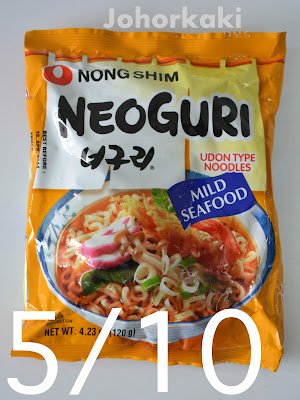 Nong Shim Neoguri Mild Seafood Udon Type Noodles