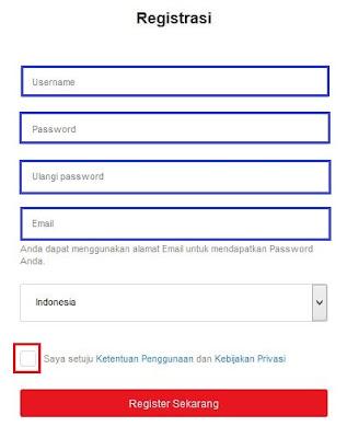 Daftar Garena Indonesia