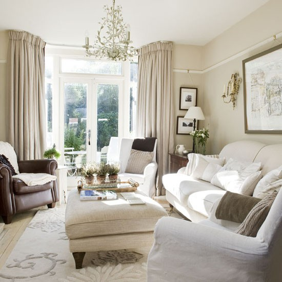 Beautiful Living Room Decor: New Home Interior Design: Take A Tour Around An Elegant