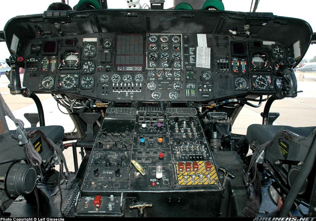 MH 53E Cockpit