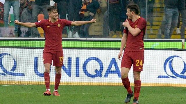 Cengiz Under Selebrasi Gol Udinese Roma