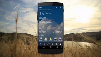 Aplikasi Prakiraan Cuaca Android Paling Populer  Baca! Aplikasi Prakiraan Cuaca Android Paling Populer 2017