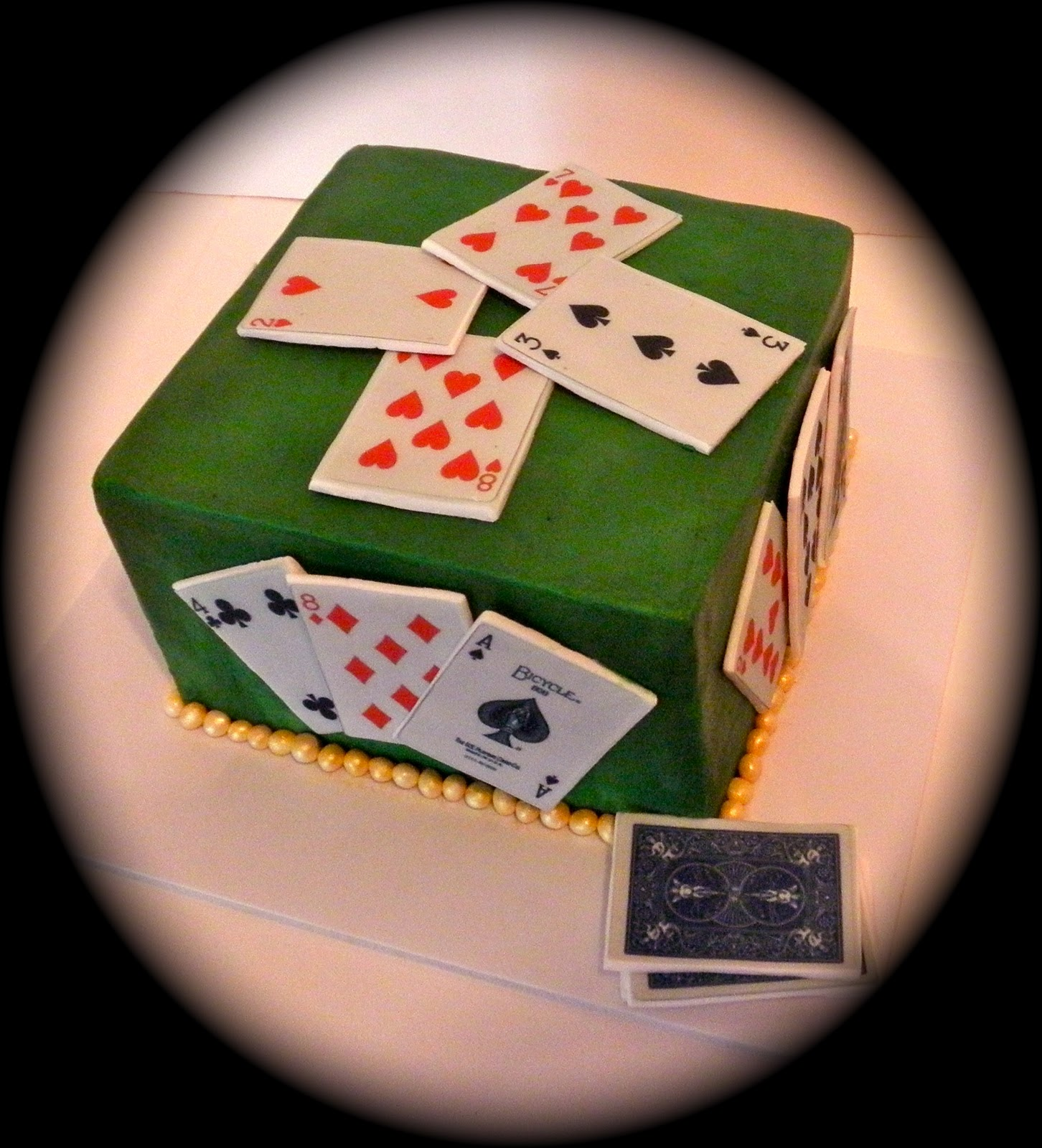 Sweet T S Cake Design Card Game Of Spades Special Occasion Cake