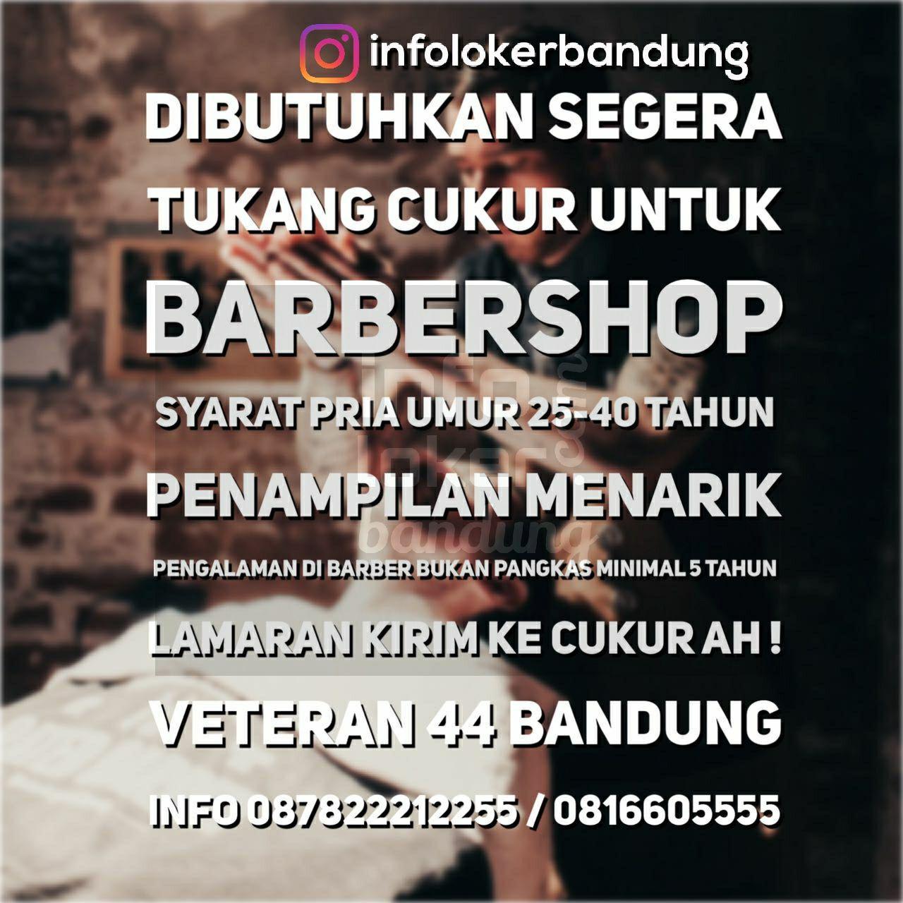 Lowongan Kerja Barbershop Cukur Ah Bandung September 2017