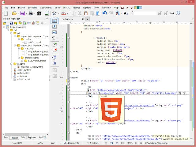 SynWrite-code-editor-2017
