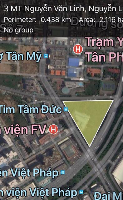 Tam Giác Vàng, 3 Mặt tiền Nguyễn Văn Linh, Quận 7