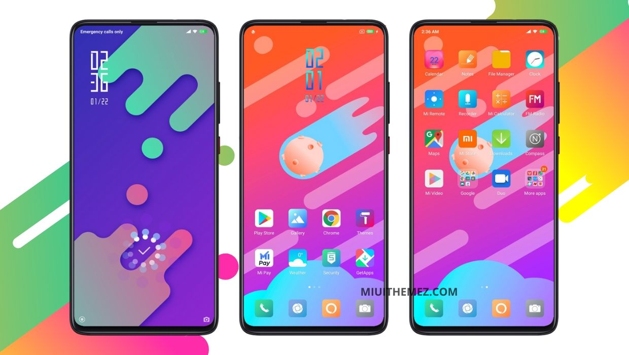 Cool Color V11 - The Most Amazing Colorful MIUI Theme