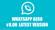 [UPDATE] Download WhatsApp Aero v8.0 Latest Version Android