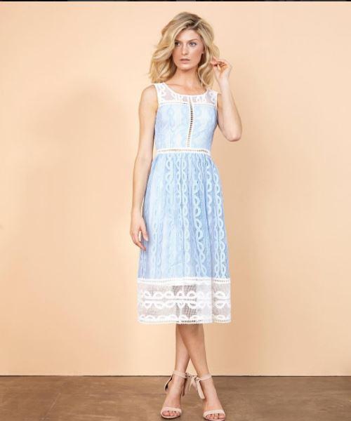 Vestido marca Iorane de crochê da Marcela Temer