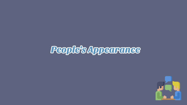 Unit 2 - People's Appearance