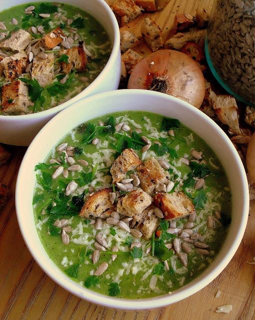Zupa porowo-ziemniaczana / Creamy Potato and Leek Soup