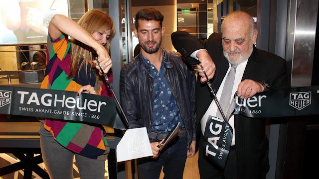 #connectedtoeternity TAG Heuer renueva su boutique en Buenos Aires con una noche de tributo a la tecnología y al deporte