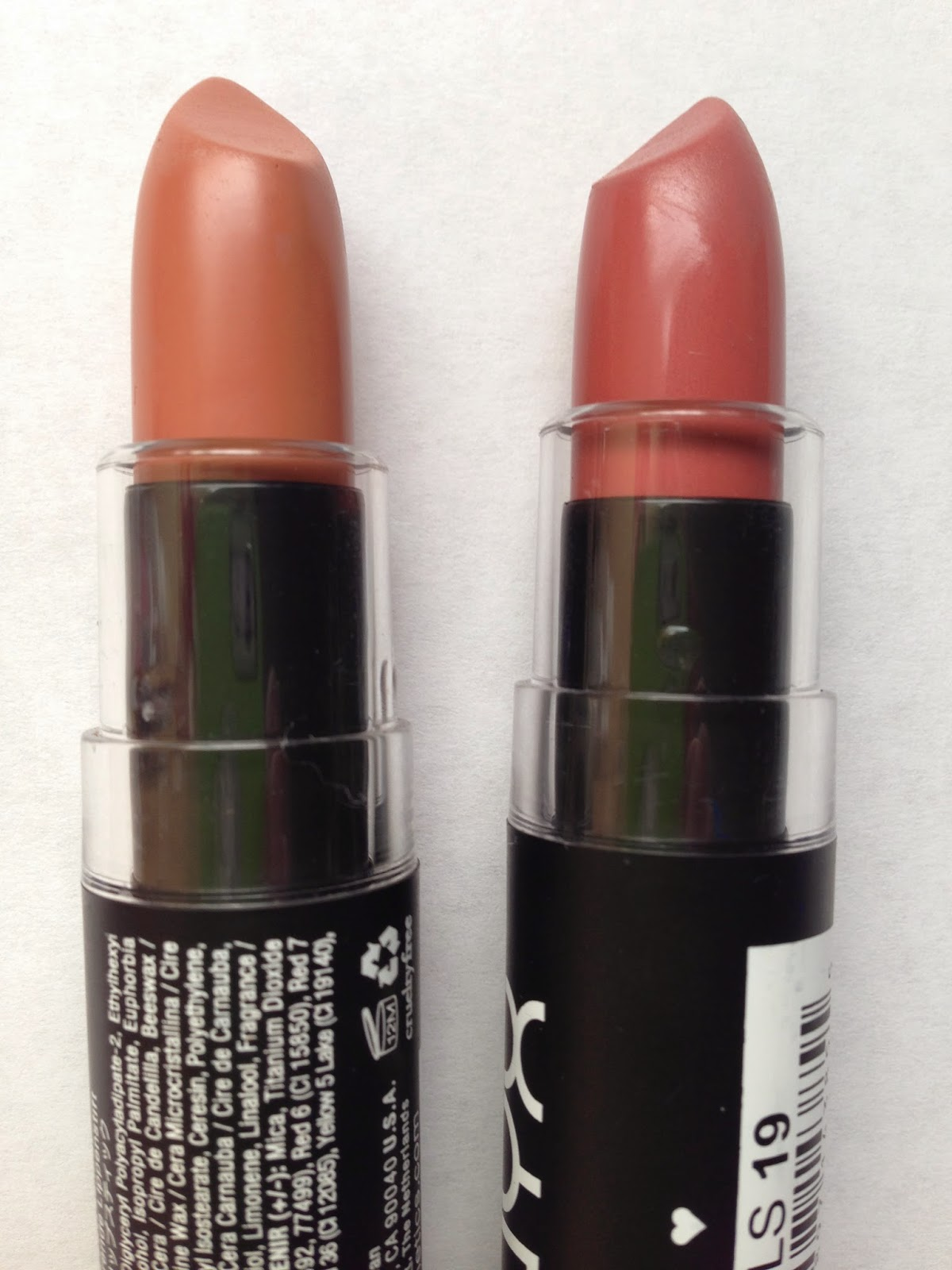 Nyx Lip Lingerie Makes A Great Dupe For The Kylie Jenner: My Makeup Blog: Nyx Matte Lipstick Swatches