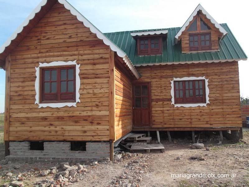 Arquitectura de casas construir casas de madera en argentina - Construir casas de madera ...