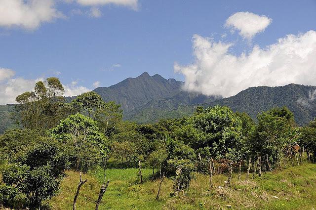 Szlak wulkaniczny w Panamie