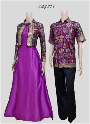 Model Baju Batik Couple Anak Muda