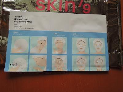 Testowanie ze Skin79- 3 STEP Shower Glow Brightning Mask