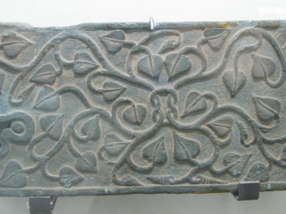 Stone pattern from Gandhara, Swat Museum, Pakistan