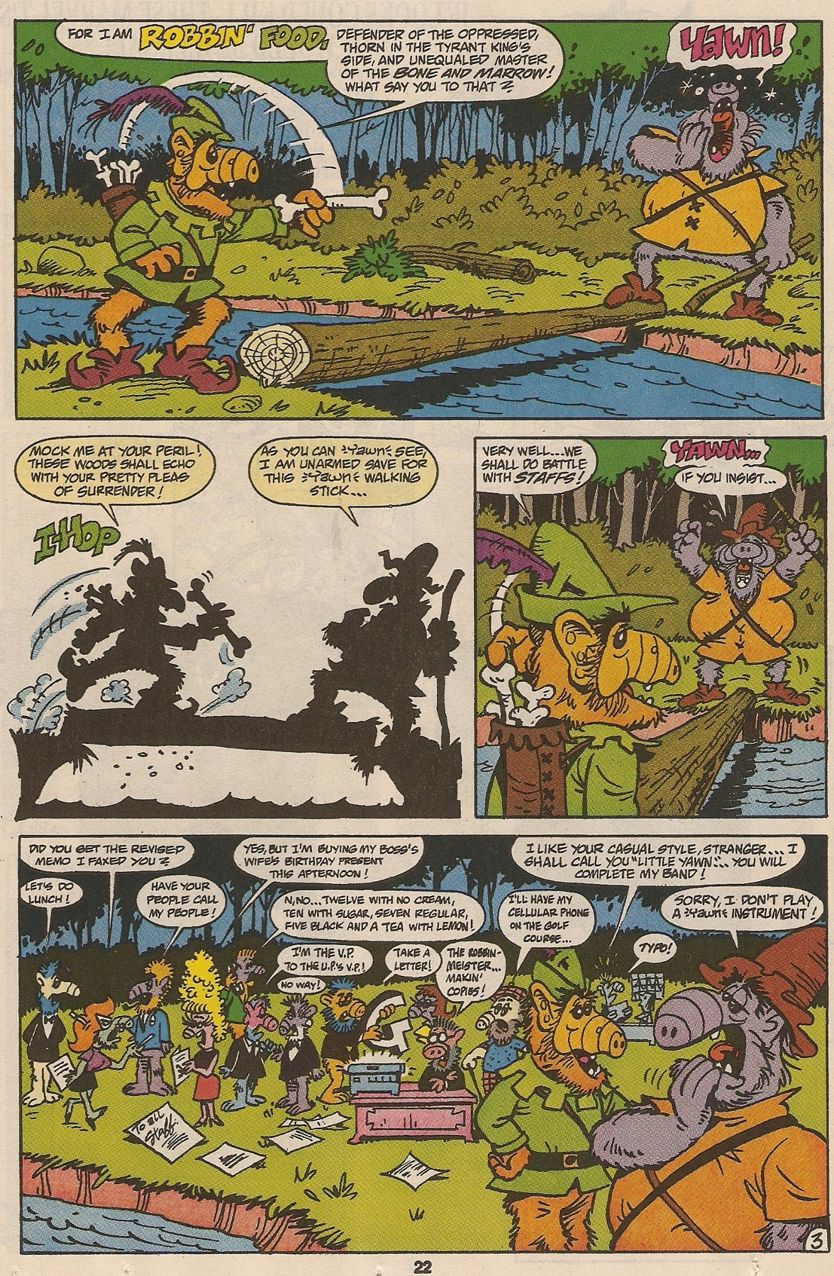 Read online ALF comic -  Issue #47 - 23