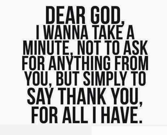 Thoughts: dear God
