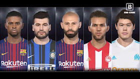 PES 2018 [PS3] Official Update 1.05 + DLC 3.0