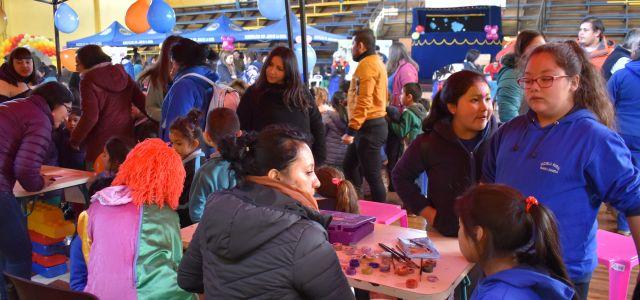 Más de 400 niños festejaron su día en San Juan de la Costa