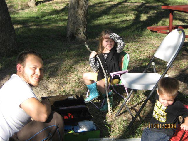 Family Fishing on Medio Creek