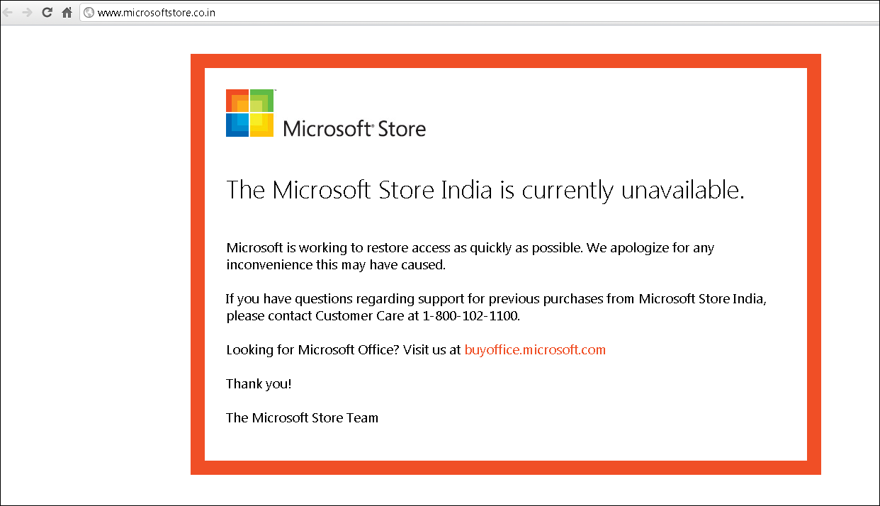 Why Microsoft's India store Hacked ~ tEchnologY Is LifE