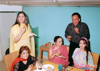 Amisha patel with neighbours