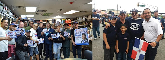 Aspirantes dominicanos a la alcaldía de Paterson arrecian campaña por votos de compatriotas