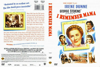 Carátula dvd: Nunca la olvidaré (1948) (I Remember Mama)