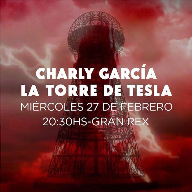Charly García enciende la torre de tesla y vuelve al Gran Rex
