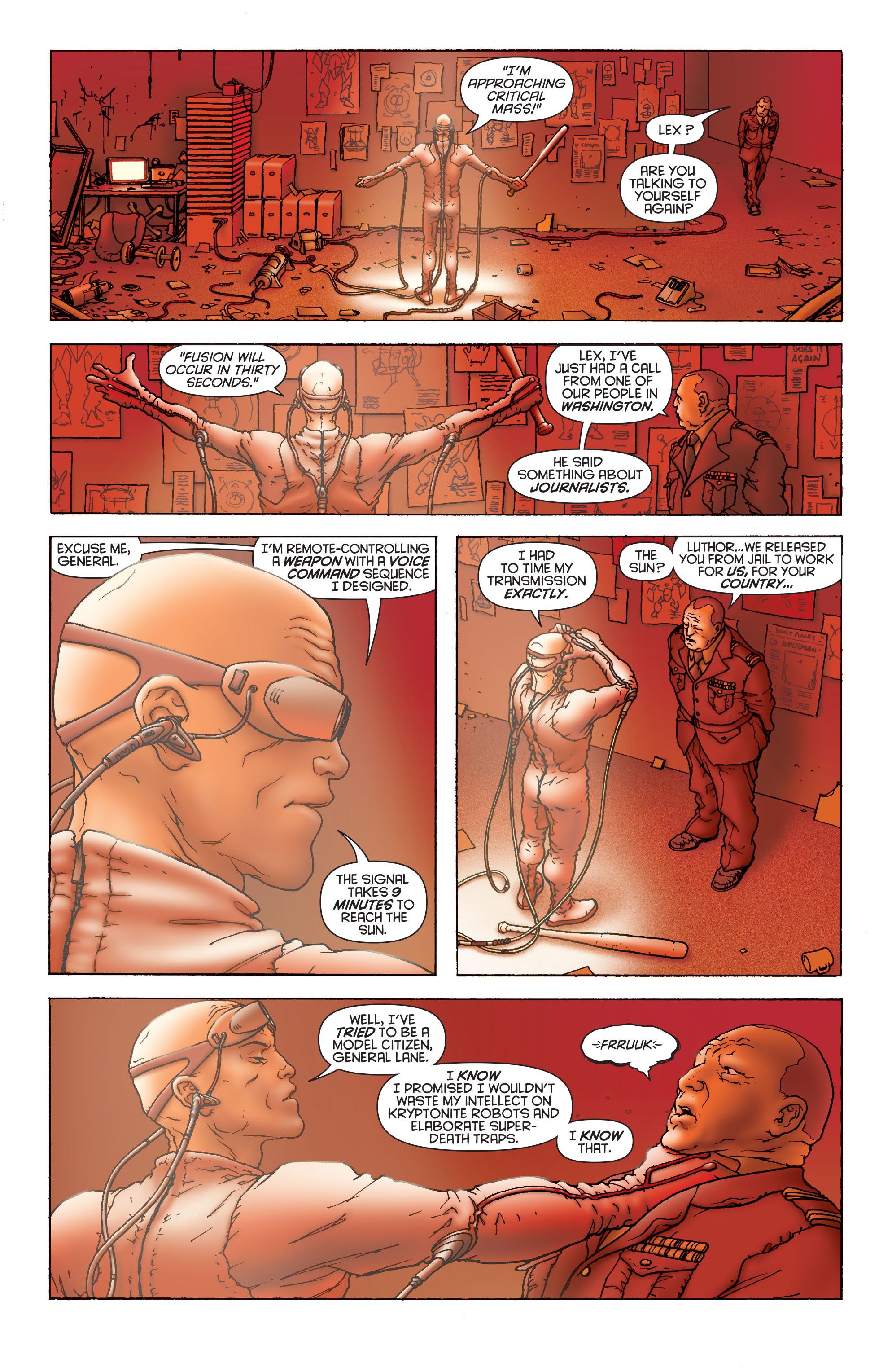 Read online All Star Superman comic -  Issue #1 - 8
