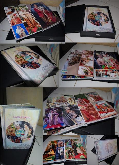Album kolase pernikahan magazine