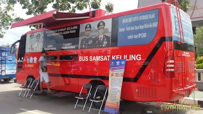 Bus Samsat Keliling Batam